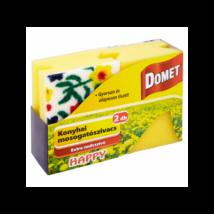 DOMET Happy mosogatószivacs 2db