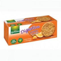 GULLON DIGESTIVE Zabpelyhes, narancsos keksz 425g