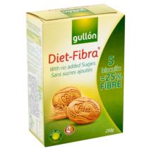 GULLON FIBRA Keksz hozzáadott cukor nélkül 250g