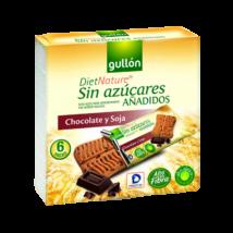 GULLON SNACK csokis keksz 144g