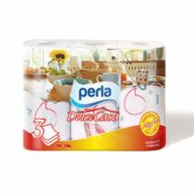 PERLA Papírtörlő 3tek.3rétegű 54lap Dolce Casa dekor mintás
