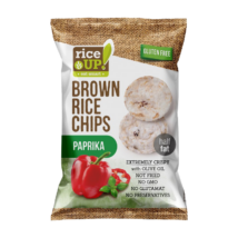 RICE UP Chips Paprikás 60g
