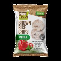 RICE UP Chips Paprikás 60g