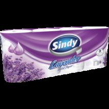 SINDY Toalettpapír 3 rétegű 8 tekercses LEVENDULA