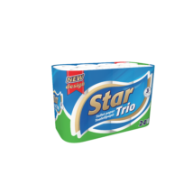 STAR TRIO WC PAPÍR 24 TEK. 3 RÉTEGŰ