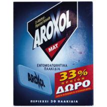 AROXOL szúnyogírtó lap 30db/csom