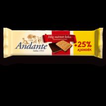 ANDANTE félig mártott keksz +25% 125g ÉT