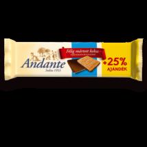 ANDANTE félig mártott keksz +25% 125g TEJ