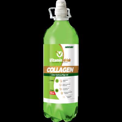 ADRENALIN Vitamin Drink 1l Pet COLLAGEN lime-kaktuszfüge