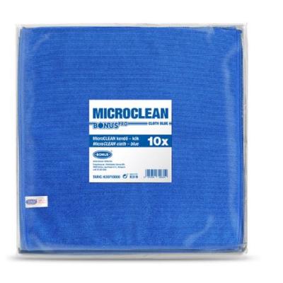 BONUS MicroClean kendő 32x32cm KÉK 10DB-OS ( B319 )