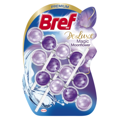 Bref Deluxe 3x50g Moonflower (purple)
