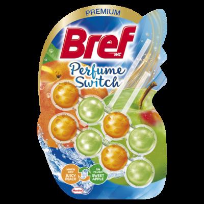 Bref Perfume Switch 2x50g SWEET PEACH-RED APPLE (orange-green)