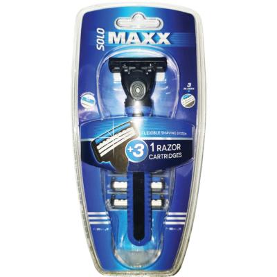 FS SOLO MAXX 3 pengés férfi borotva 3 pótfejjel
