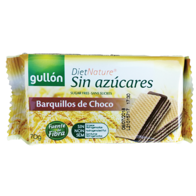 GULLON NÁPOLYI 70gr BARQUILLOS DIABEIKUS KAKAÓS