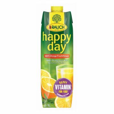 HAPPY DAY Narancslé gyümölcshússal 100% 1l