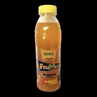 MÁRKA Fruitica Szénsavmentes üdítő 0,5l ŐSZIBARACK