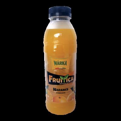 MÁRKA Fruitica Szénsavmentes üdítő 0,5l NARANCS