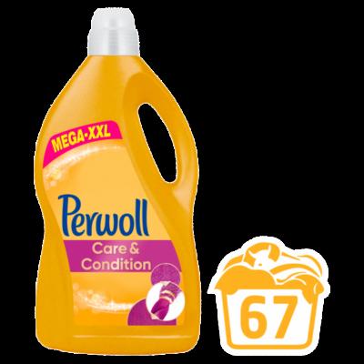 Perwoll Care&Condition finommosószer 67 mosás 4,05 l