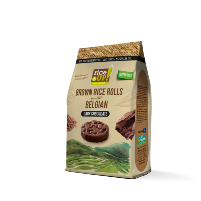 RICE UP Snack Étcsokis 50g