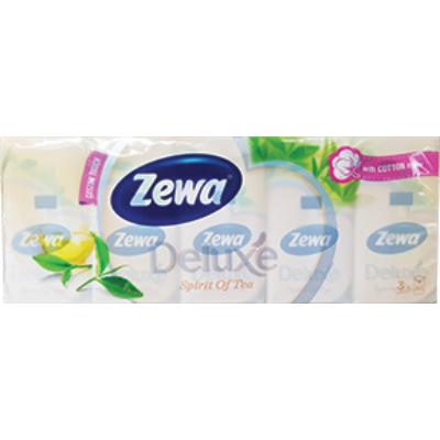 ZEWA Papírzsebkendő 3rétegű 10X10db SPIRITOF TEA