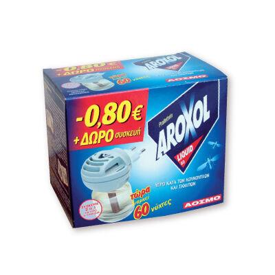 AROXOL szúnyogírtó készülék+ut. folyadék