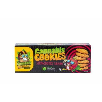 CANNABIS AIRLINES Keksz 6x20g STRAWBERRY